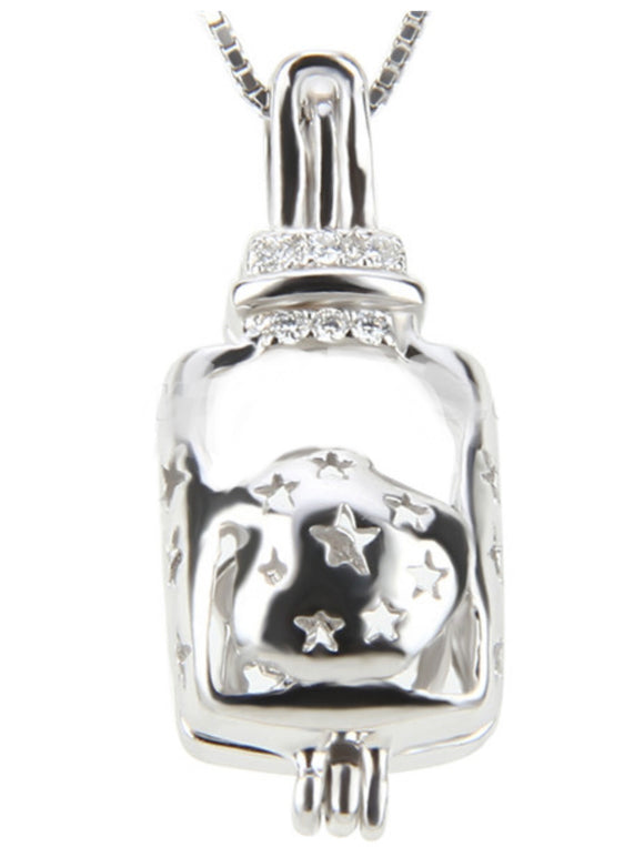 Baby Bottle Pearl Cage Sku# 176-C