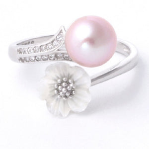 Blossom Ring Sterling Silver Adj. sku # 321-R