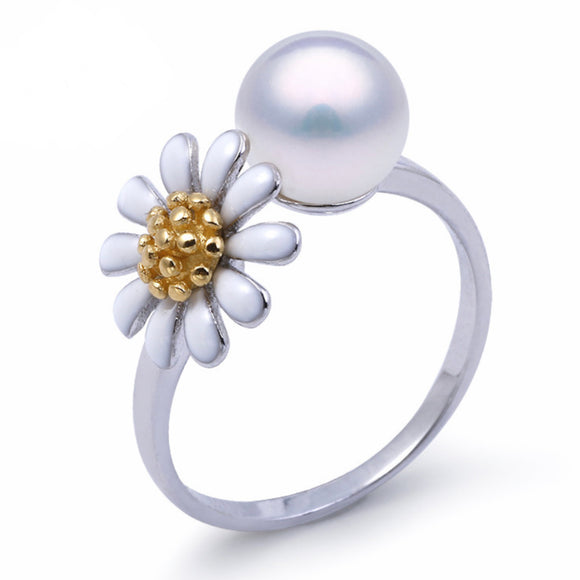 Daisy Ring Sterling Silver Adj. sku # 360-R