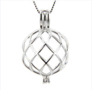 Twisted Edison Cage sterling silver .925 sku # 704-EC