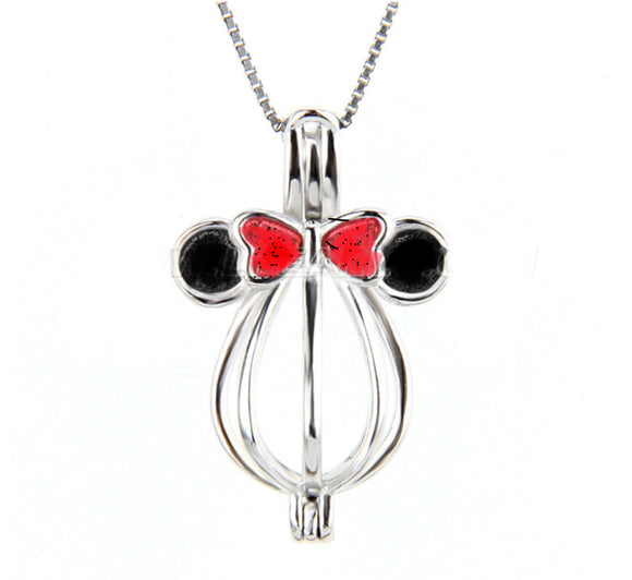 Minnie Sterling Silver Cage sku # 144-C