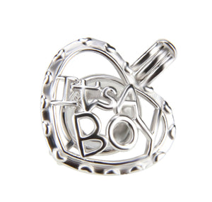 It's A Boy or It's A Girl Sterling Silver Cage sku # 158-C