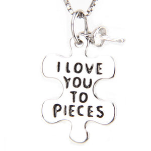 Love You to Pieces Pendant   sku # 261-NX