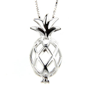 Pineapple Sterling Silver Cage sku # 105-C