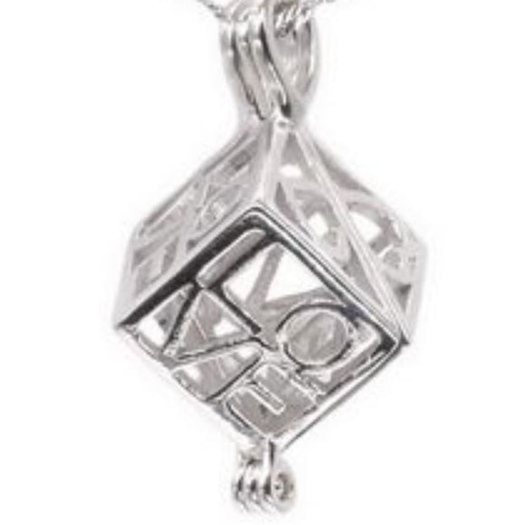 Love Box Sterling Silver Cage sku # 158-C