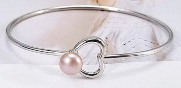 Beating Heart Sterling Silver Bracelet sku # 411-B