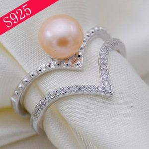 Double Chevron Ring Sterling Silver Adj. sku # 325-RX