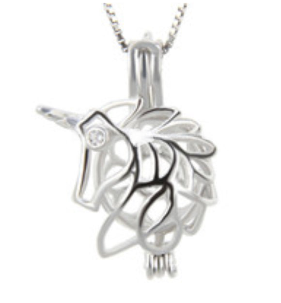 Unicorn Sterling Silver Cage sku # 142-C
