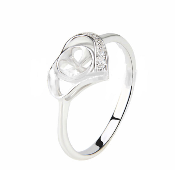 Loving Affection Sterling Silver Adj. Ring sku # 313-R