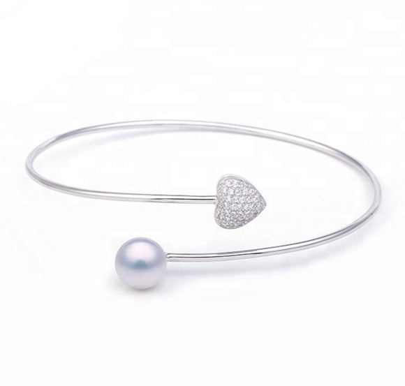 Love Conquers All Sterling Silver Bracelet sku #406-B