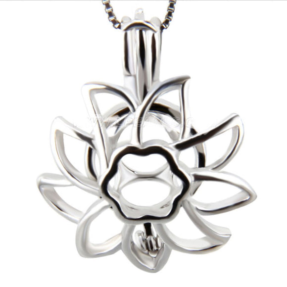 Sunflower Sterling Silver Cage sku # 132-C