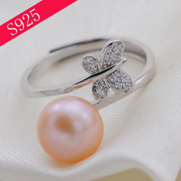 Butterfly Kisses Ring Sterling Silver Adj. sku # 317-RX