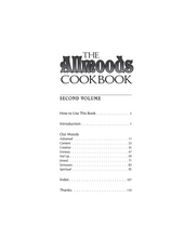 Load image into Gallery viewer, The Allmoods Cookbook Second Volume