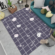 Japanese and Korean Cartoon Style Carpet Rug-Discover Your Nook