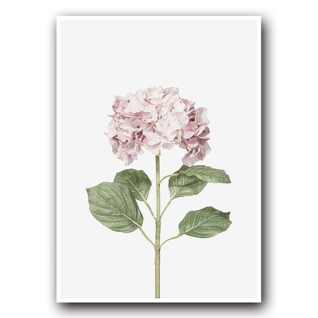 Pink Flower Canvas-Discover Your Nook