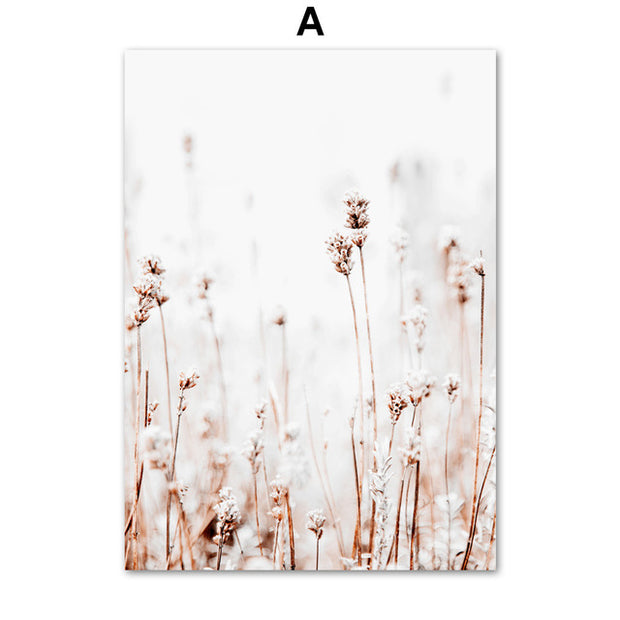 'Washed Away' Flower Canvas Print-Discover Your Nook