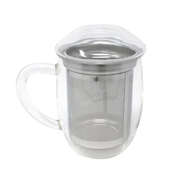 Glass Tea Mug with Infuser