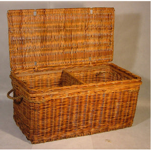 Small Rattan Table Chest