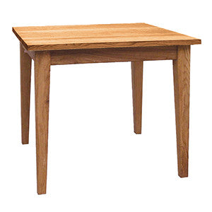 Coach House Brooklyn Oak Square Dining Table