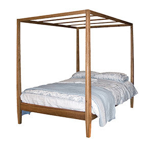 Coach House Brooklyn Oak 4 Poster Bed