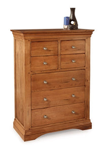 Phillipe 4 over 3 Tall Chest of Drawers
