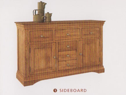 Phillipe Oak Sideboard