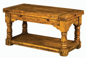 Rustic Trilogy Coffee Table