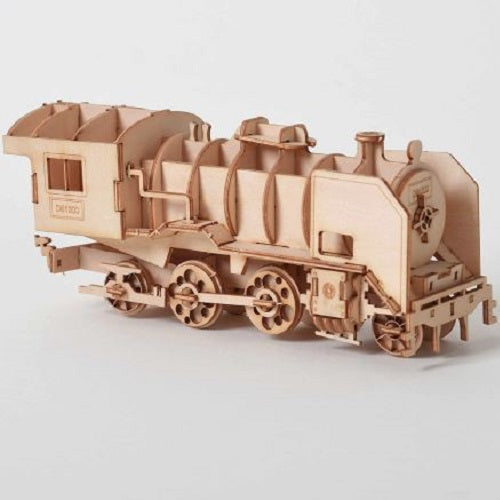 Wooden Puzzle Train