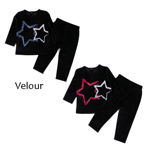 Velour Star Pajamas