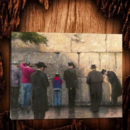 Kotel Canvas Painting