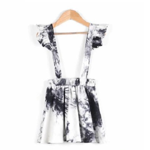 Tie Dye Suspender Dress