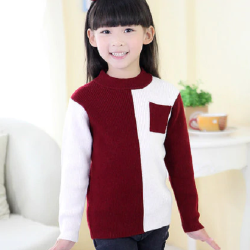 Colorblock Ribbed Sweater