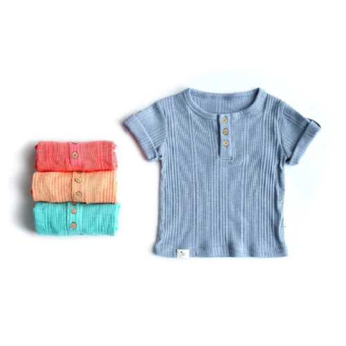 Cotton Knit Tee