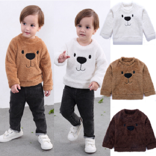 Fuzzy Bear Sweater