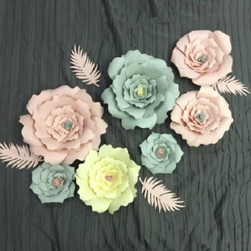 Paper Flowers Craft