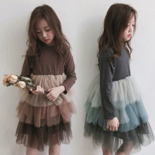 Tulle Layer Dress