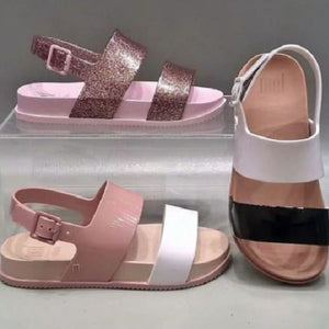 Mini Melissa Strap Sandals