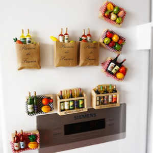 Grocery Refrigerator Magnets