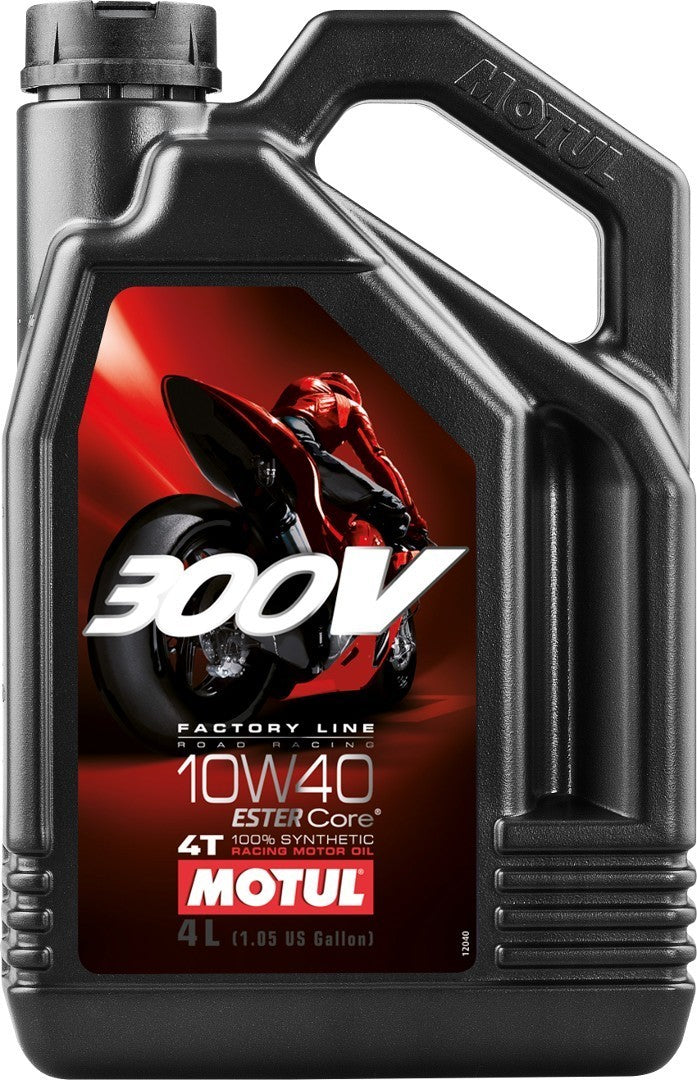 Motul 300v 10w40 4 litres motorbike racing engine oil