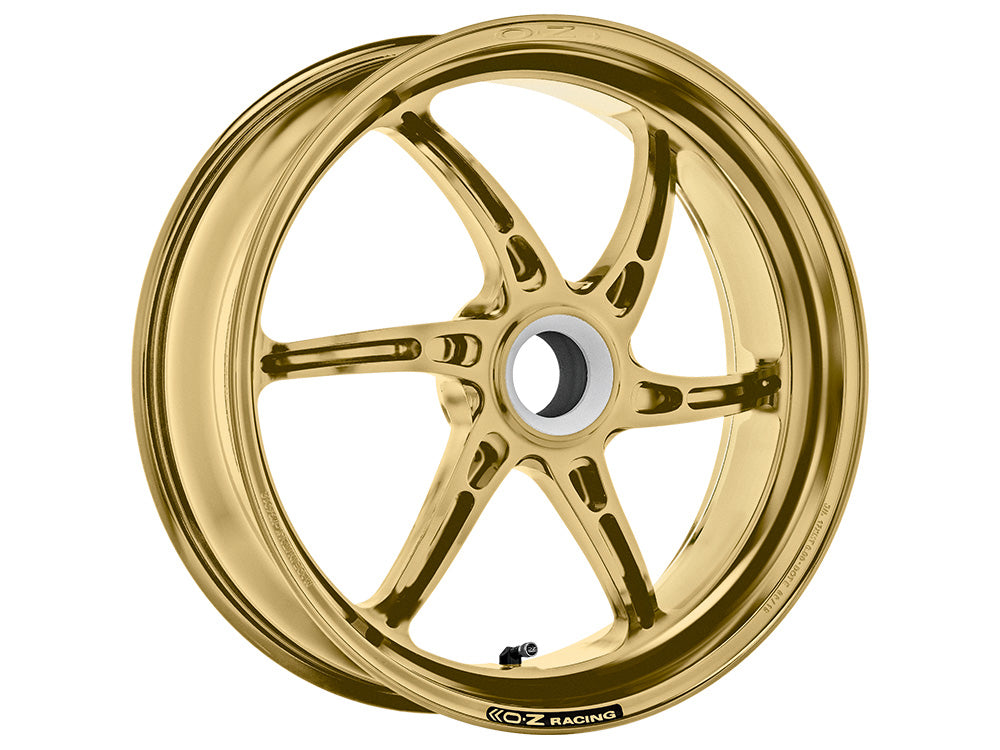 oz racing cattiva single sided motorcycle rear wheel gold