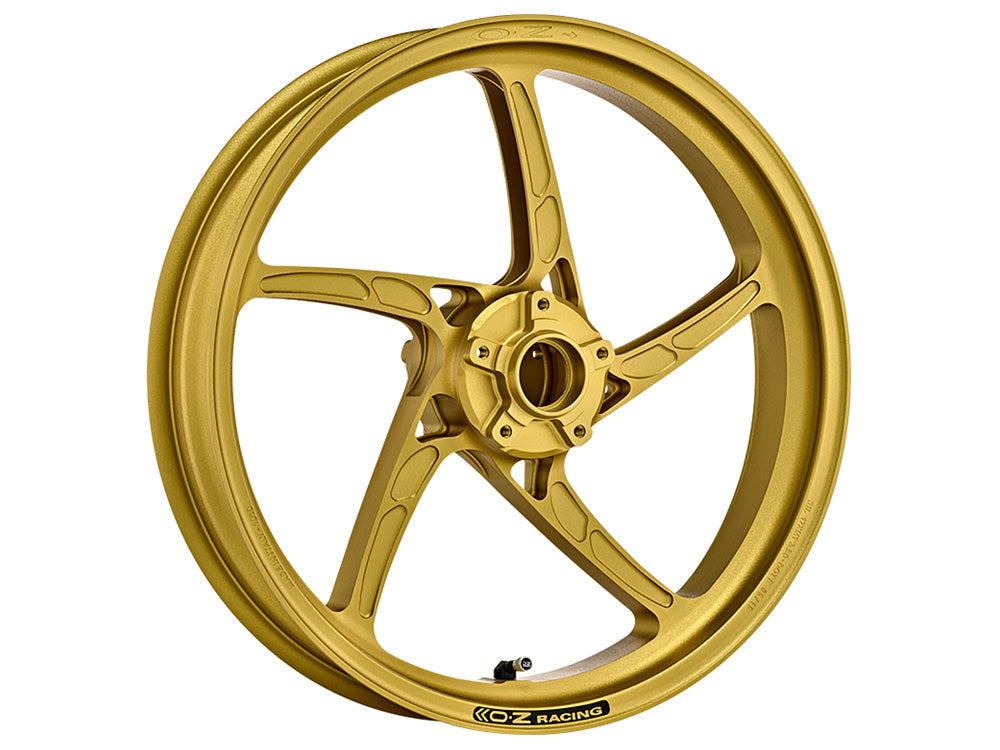 oz racing piega motorcycle wheels gold front