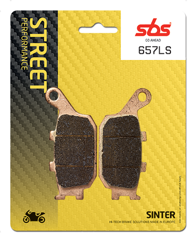sbs motorcycle rear brake pads ls compound