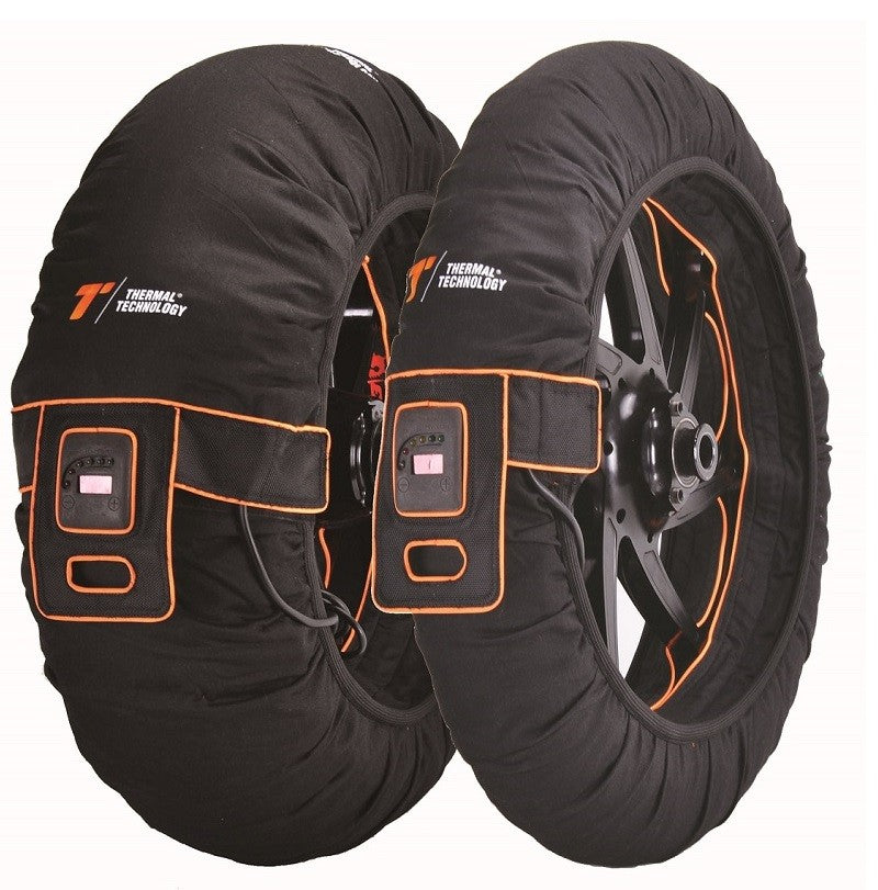 Thermal technology tri zone tyre warmers