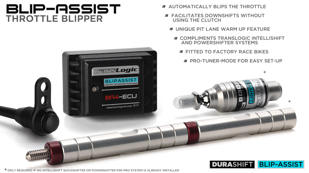 Translogic blip assist down shifter