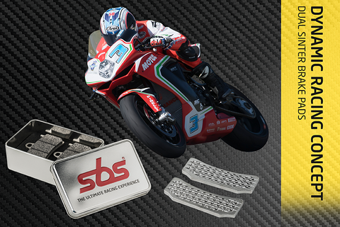 SBS ds1 & ds2 sintered Motorcycle Brake pads
