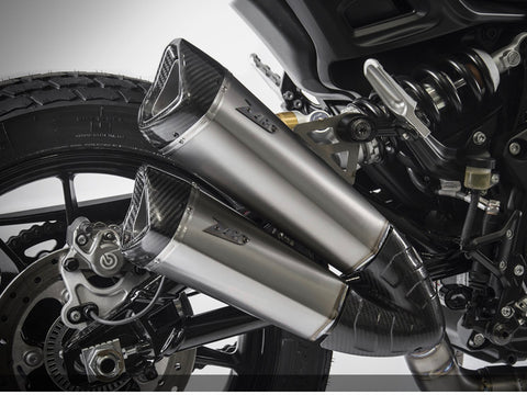 Zard exhausts Indian ftr1200