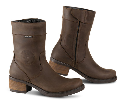 falco ayda ladies motorbike boots