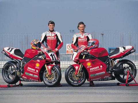 Ducati Performance 1999 team 996 RS wsbk launch
