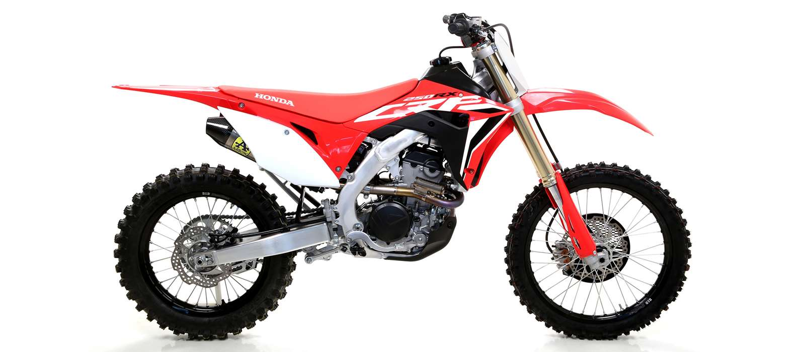 Arrow Mx competition race exhaust for honda crf