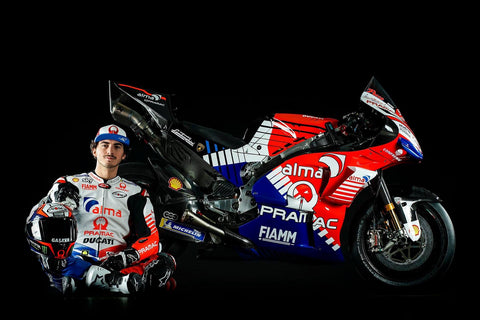 Alma Pramac Ducati MotoGP Team Launch Francesco bagnaia
